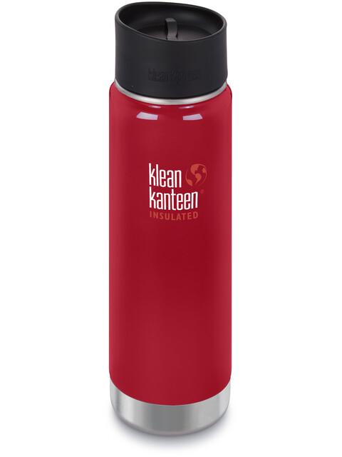 Klean Kanteen Wide Vacuum Insulated Bottle Café Cap 2.0 592ml Mineral Red